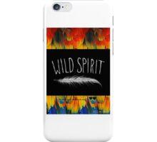 wild spirit dreamer iPhone Case/Skin