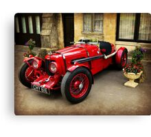 Rare Aston Martin. Canvas Print