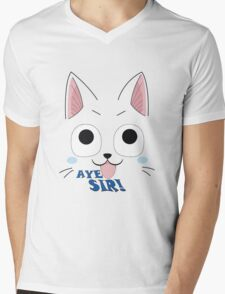Aye Sir! Mens V-Neck T-Shirt