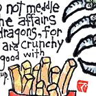 Dragon Snacks by dosankodebbie