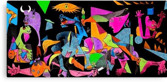 technicolor guernica by Loui  Jover