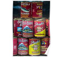 Portola Cans Poster