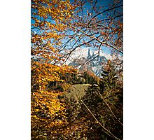Swiss Autumn Afternoon Photographic Print