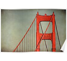 """Golden Gate""  Poster"