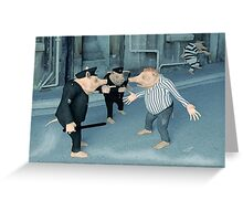 Mistaken Identity Greeting Card