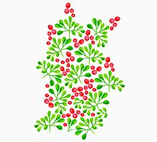 Christmas Branch + Berries Unisex T-Shirt