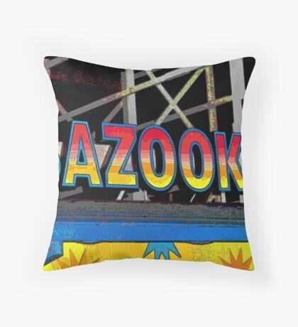Bazooka Throw Pillow
