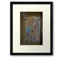 Stairwell - Melk Abbey Framed Print
