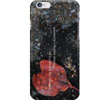 Heart set on travel iPhone Case/Skin