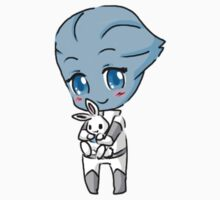 Mass Effect 3 Chibi Zodiac - Liara T'soni by chocominto