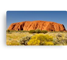 Ayres Rock, Australia Canvas Print