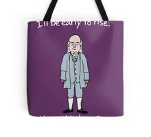 Benjamin Franklin Tote Bag