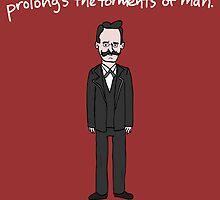 Friedrich Nietzsche by Ben Kling
