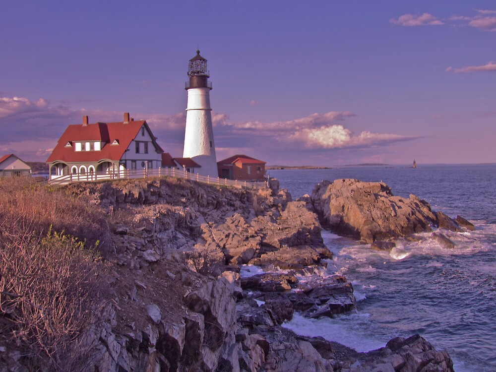 Portland Head Lighthouse by Mike Griffiths