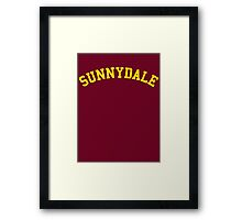 Sunnydale High School - Buffy Framed Print