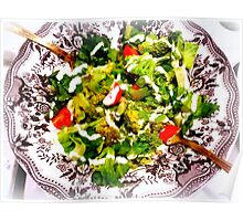 Warm Broccoli Salad Poster