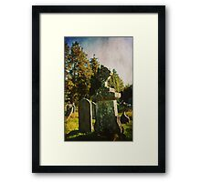 From My Past Framed Print