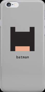 Pixelebrity - Batman by mattoakley