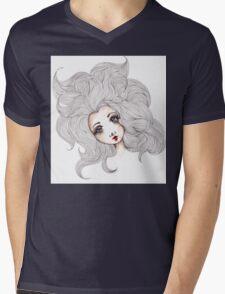 The Stare Mens V-Neck T-Shirt