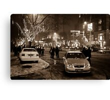 China - Beijing - Streetscape Canvas Print