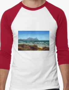 Ruakaka Beach Men's Baseball ¾ T-Shirt