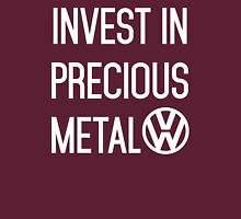 Invest In Precious Metal VW :) Womens Fitted T-Shirt