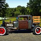 1928 Ford Model A Pickup Truck Rat Rod by TeeMack