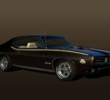 "1970 Pontiac GTO ""The Judge"" by TeeMack"