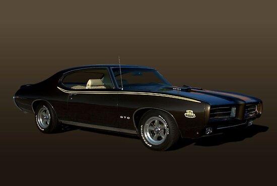 "1970 Pontiac GTO ""The Judge"" by TeeMack"