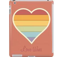 Love Wins iPad Case/Skin