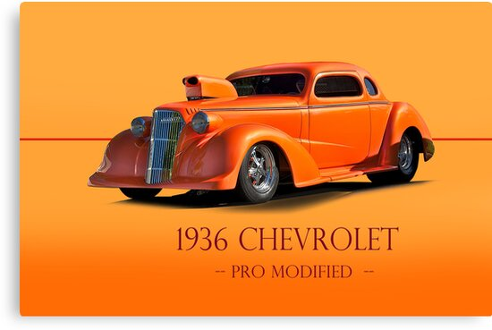 1936 Chevy Coupe Pro Mod w/ID by DaveKoontz