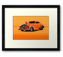 1936 Chevy Coupe Pro Mod w/o ID Framed Print