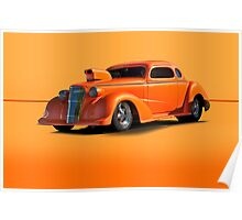 1936 Chevy Coupe Pro Mod w/o ID Poster