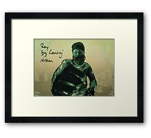 Roy 'Big Country' Nelson Framed Print