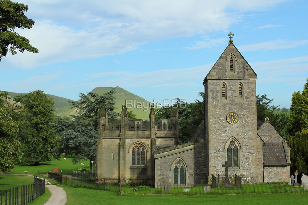 Ilam Church Derbyshire by Blayde666