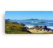 Carmel Bay and Point Lobos Canvas Print