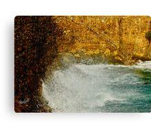 Cove Surge Canvas Print