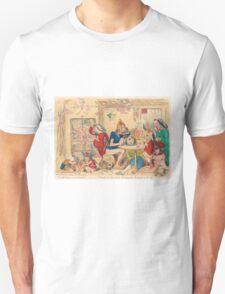 Un Petit souper a la Parisienne by Gillray T-Shirt