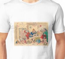 Un Petit souper a la Parisienne by Gillray Unisex T-Shirt