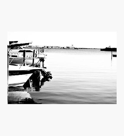The Oswego Harbor Photographic Print