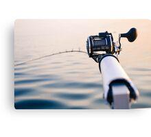 Fishing Rod Canvas Print