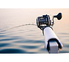 Fishing Rod Photographic Print