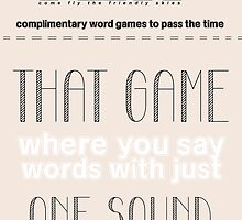 MJN Air: Word Games #4 by sha-ron