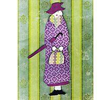 Mysterious Miss Marple Photographic Print