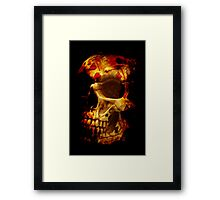 Hand of death Framed Print