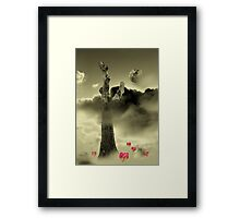Misty Dream Framed Print