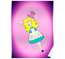 Alice Falling Poster