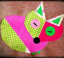 Sleeping Fox by lilu1012