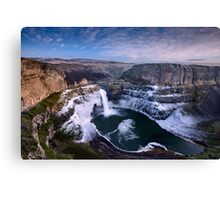Winter at Palouse Falls Canvas Print