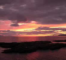 Scottish Highlands Sunset 001 by spoilmesweetie